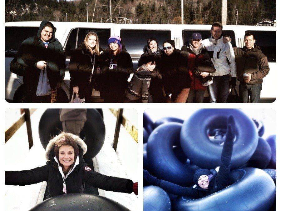 Salon Bliss' second annual snowtubing event – Jan 26